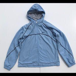 Reebok Women's Size Medium Windbreaker Jacket Blue